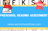 PRESCHOOL READING ASSESSMENT
